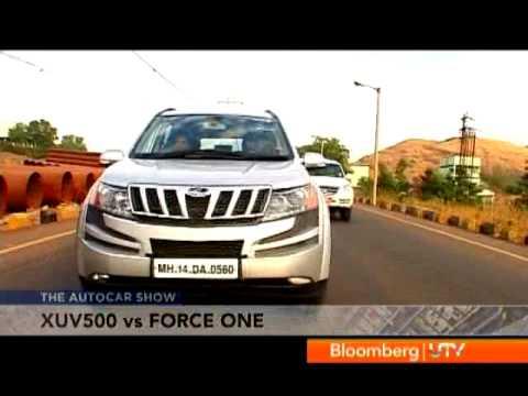 2012 Mahindra XUV500 Vs Force One | Comparison Test | Autocar India