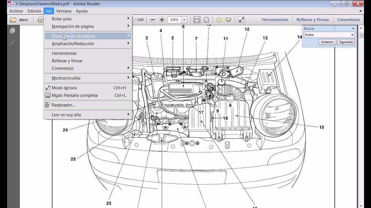 daewoo matiz sohc engine timing belt and pulley schematic diagram daewoo engine schematics [ 1280 x 720 Pixel ]
