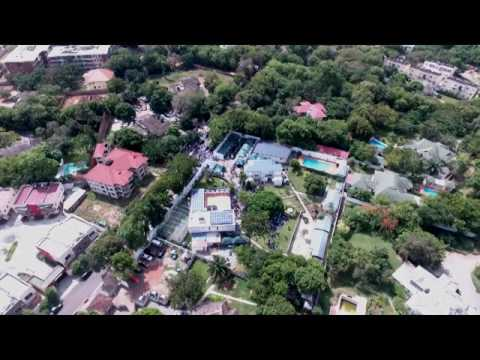 Drone footage of No. 3 Prestige Link House, Cantonments