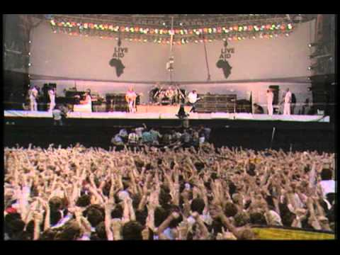 Queen   We Will Rock You + We Are The Champions Live Aid 1985