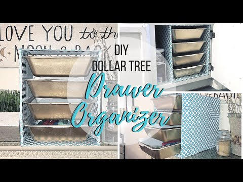 DIY DOLLAR TREE DRAWER ORGANIZER