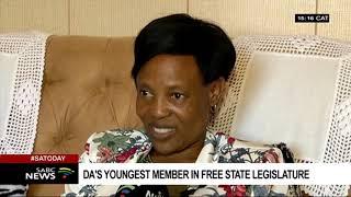 DA's youngest Member of Legislature is 21 year-old Karabo Khakhau