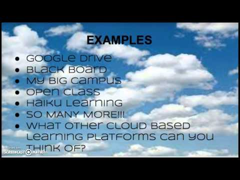 Cloud Based Learning