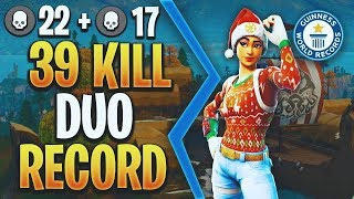 39 BOMB DUOS w/ FaZe Jzm | XBOX WORLD RECORD | Fortnite Battle Royale