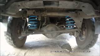 lovells suspension rear on Pajero Sport New