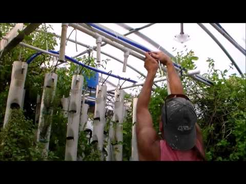 Water Delivery System for Aquaponics Grow Towers Part 2