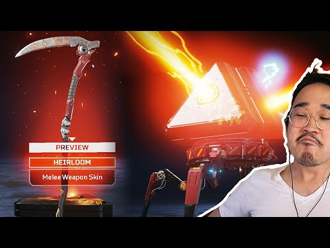I UNBOXED THE NEW REVENANT HEIRLOOM!! (Genesis Collection Event - Apex Legends)