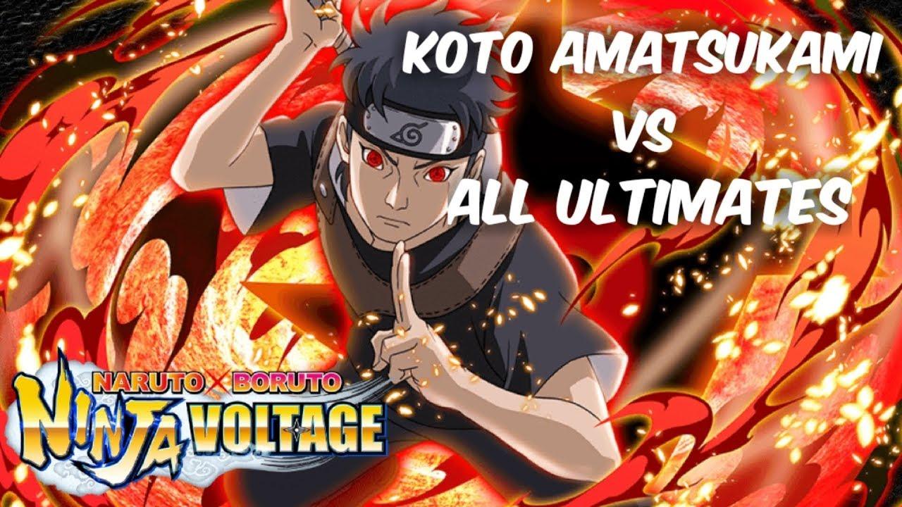 Download Shisui's Koto Amatsukami vs all Ultimates | Naruto X Boruto Ninja Voltage
