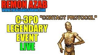 7 Star Unlocked!!! C-3PO Legendary Event Live!!!! - Star Wars Galaxy Of Heroes - SWGOH
