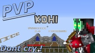 """Announcement Alert!"" Minecraft: Kohi pvp"
