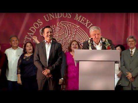 Mensaje del Presidente de México en Veracruz