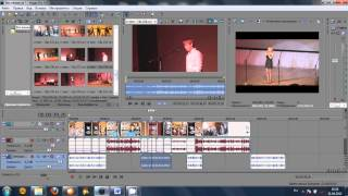Видеоурок монтажа новостного сюжета в Sony Vegas