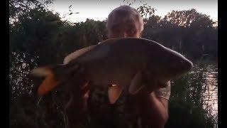 Уха на рыбалке как приготовить и поймать два карпа от http://kleva.com.ua/