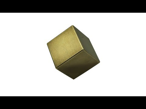 Gold Plating My Tungsten Cube