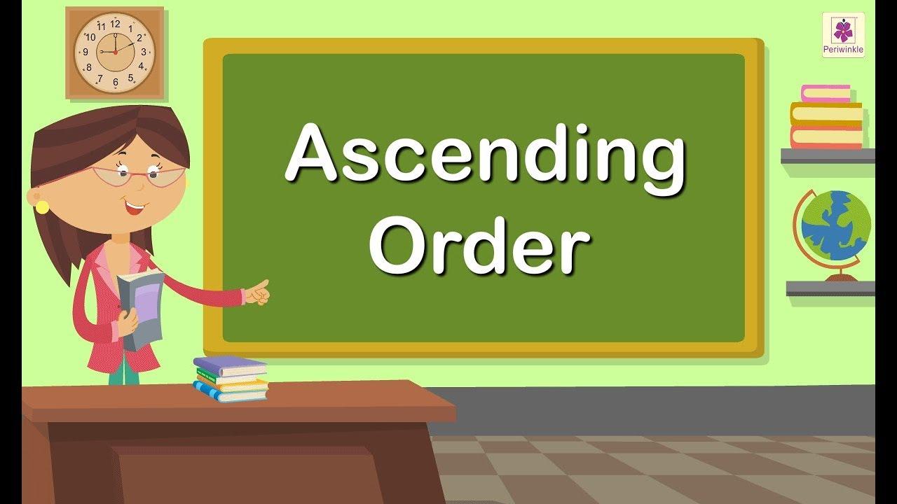 medium resolution of Ascending Order   Maths Concept For Kids   Grade 1   Periwinkle - YouTube