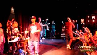 The Outlawz Live in Tivoli Dublin Secrets of war / Last Muthafucka Breathin