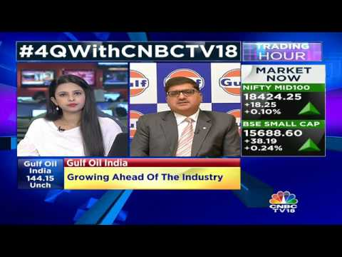 Margin Has Been Under Pressure Due To Base Oil Prices: Gulf Oil