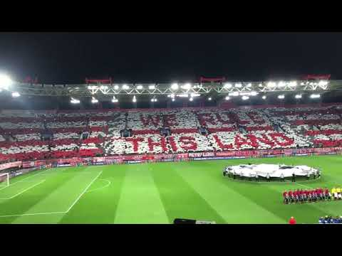 WE RULE THIS LAND - Olympiakos vs Barcelona 31/10/2017