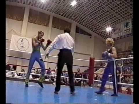 """KO 1st round. Valentina """"Bullet"""" Shevchenko VS Ingrid Graziani (France), Russia 2005"""