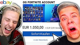 If I WOULD - BUY me this 1,000€ FORTNITE ACCOUNT on EBAY! with AVIVEHD