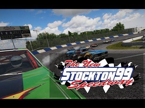 Wreckfest - Stockton 99 Speedway Mod
