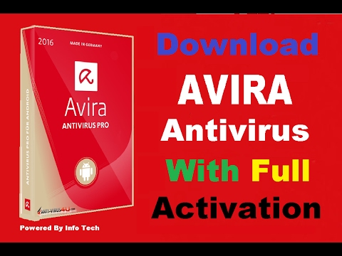 Avira Antivirus Pro 2017  With License Key Full free Version