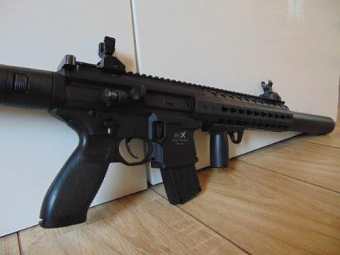 Sig Sauer MCX CO2 Gewehr Kal. 4,5mm Diabolo - Review und Schusstest