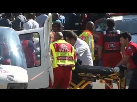At least one dead, 80 injured in Johannesburg train crash