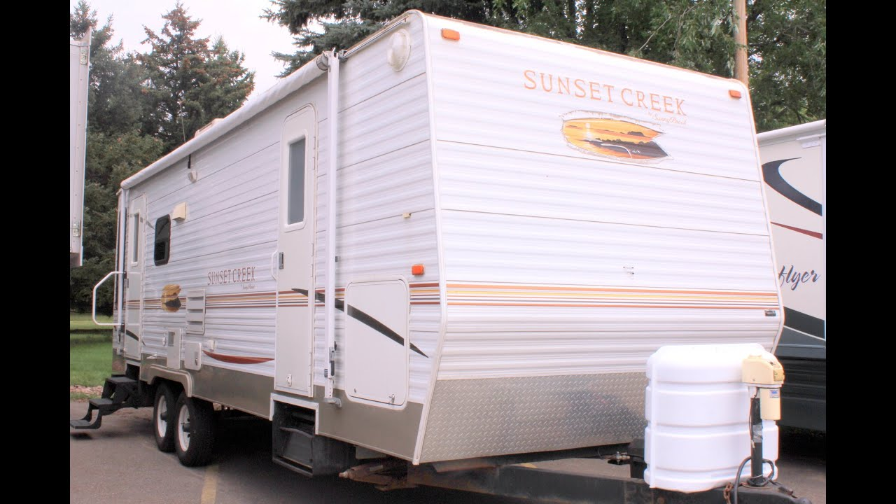 2007 Sunset Creek 267rl By Sunnybrook Stock 16912 Youtube