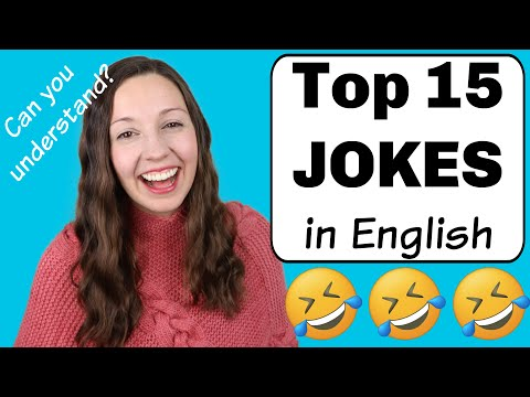 Top 15 Jokes in English: Can you understand them?