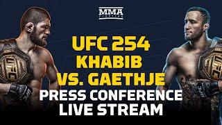 UFC 254: Khabib Nurmagomedov vs. Justin Gaethje Post Presser