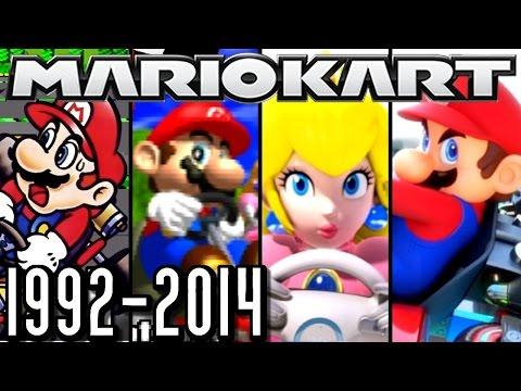 Mario Kart ALL INTROS 1992-2014 (Wii U, 3DS, N64, SNES)