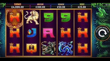 Online slots Tiger Turtle Dragon Phoenix | 50 spins