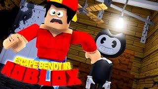ROBLOX Adventure - BENDY AND THE INK MACHINE IN ROBLOX