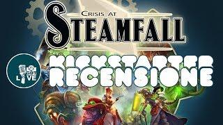 Crisis at Steamfall - Kickstarter Review