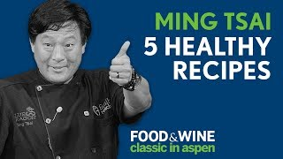 Eat Well, Drink Well with Chef Ming Tsai | Food & Wine Classic in Aspen 2018