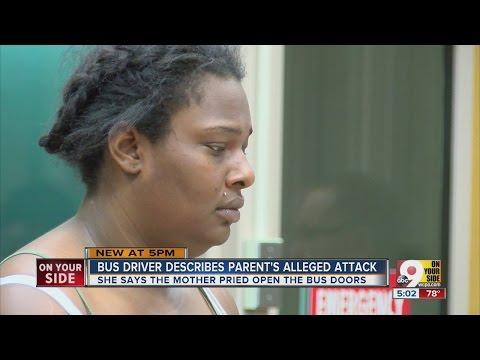 Bus driver describes parent's alleged attack