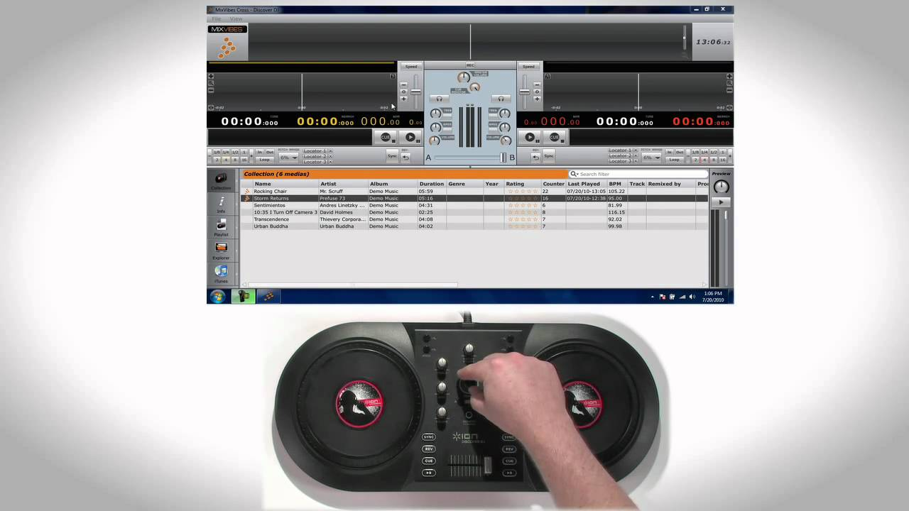 ion discover dj software download mixvibes free