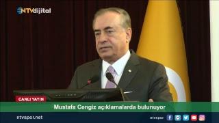 CANLI - Galatasaray Başkanı Mustafa Cengiz, Divan Kurulu'nda konuşuyor