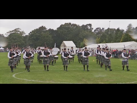 Scottish Power Pipe Band at the 2016 Scottish Championships