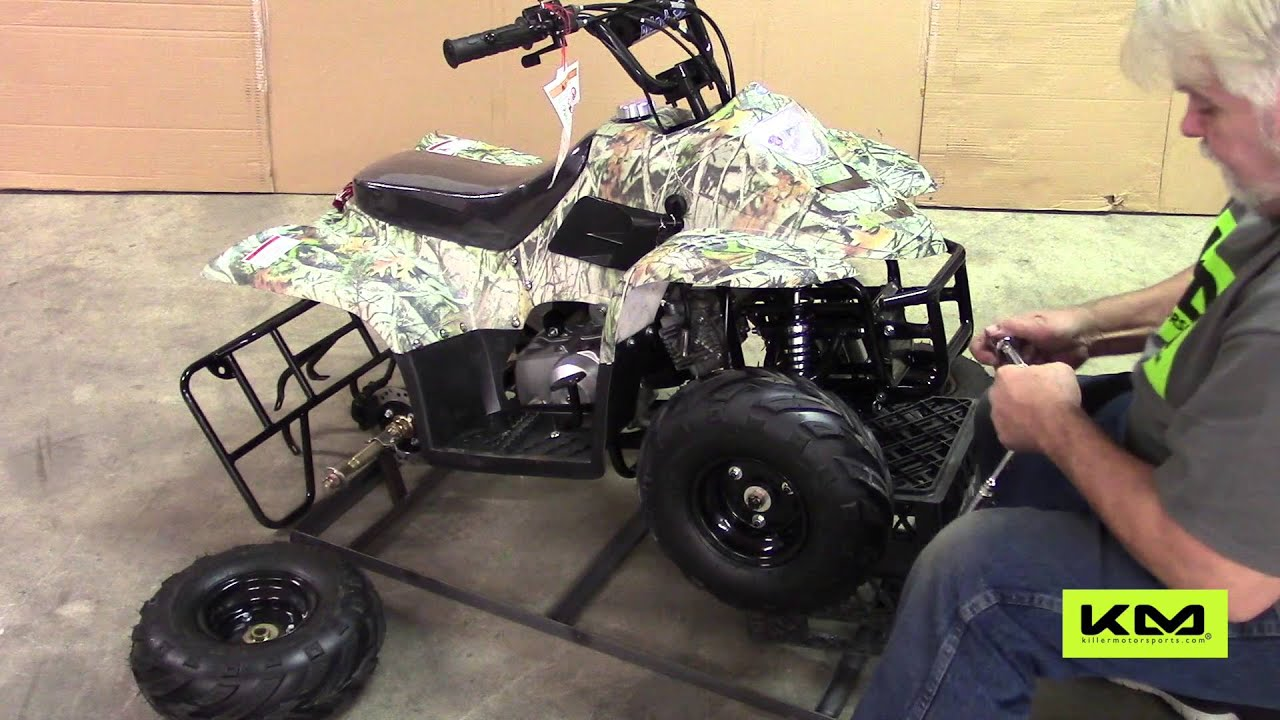 Tao Tao 110cc B1 Boulder Kids ATV Assembly - YouTube