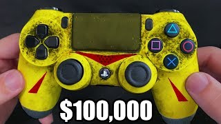I BOUGHT THE MOST EXPENSIVE CONTROLLER FOR $100,000 !!