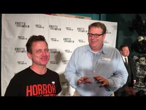 Knott's Scary Farm Announcement Event 2016 Ken Parks Interview