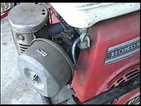 diagnosis of vintage honda generator part 1 of 4 youtube rh youtube com New Honda G300 Engine Honda G100