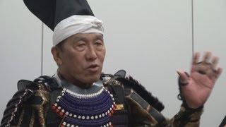 俳優で小田原ふるさと大使の阿藤快さんが4月12日、横浜市中区の神奈川...