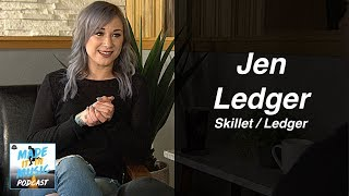 Jen Ledger: Overcoming Doubt & Dreams Coming True as Skillet's Drummer and Emerging Solo Artist
