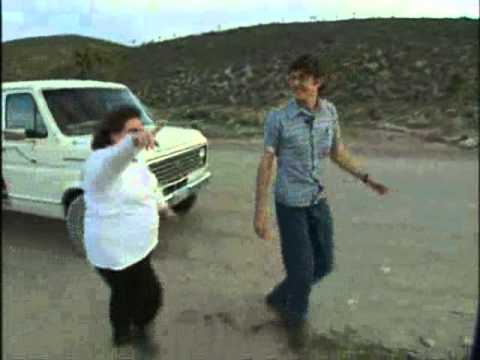Louis Theroux wanders into Area 51
