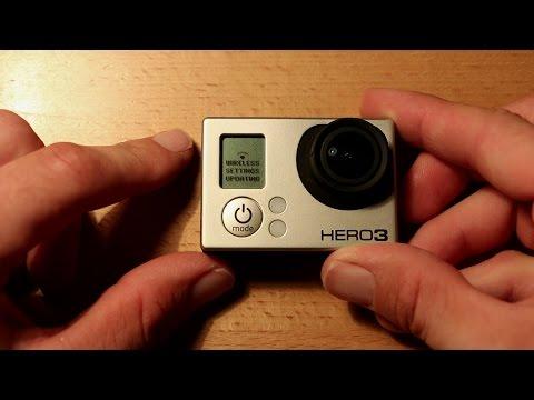 Howto reset GoPro Hero 3/3+ Wifi Passwords (fast method)