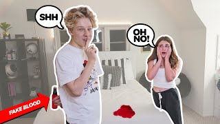 PRANKING My GIRLFRIEND For 24 Hours CHALLENGE **Funny REACTION** | Lev Cameron