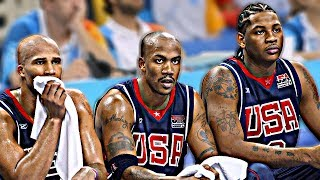 why the 2004 usa olympic team only won bronze